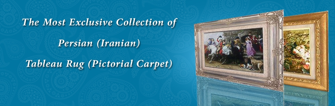 Persian Handmade Pictorial Carpet